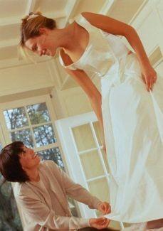 Подготовка к свадьбе. Последний стежок.