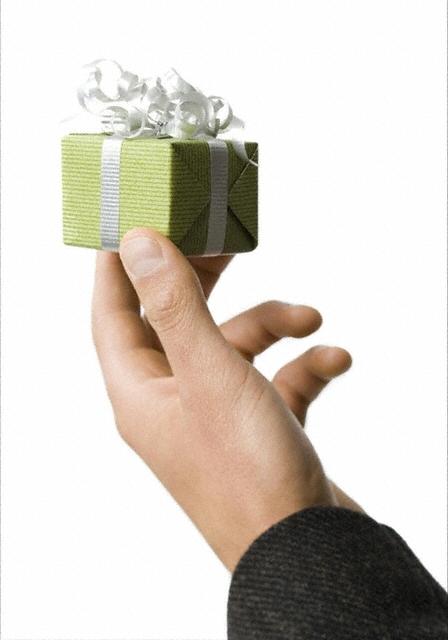 Деловой подарок скромный деловой