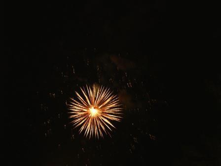 Новый год. Новогодний фейерверк.