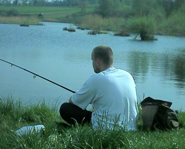 Рыбалка. Эх не клюет.
