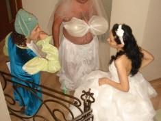 Подготовка к свадьбе. Подготовка дублера.
