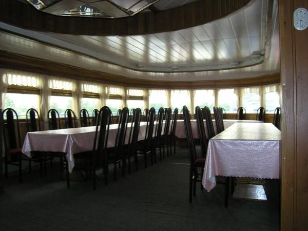 "Теплоход ""Отчизна"" - до 50 человек. Ресторан."