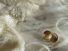 Подготовка к свадьбе. Кольца для новобрачных.