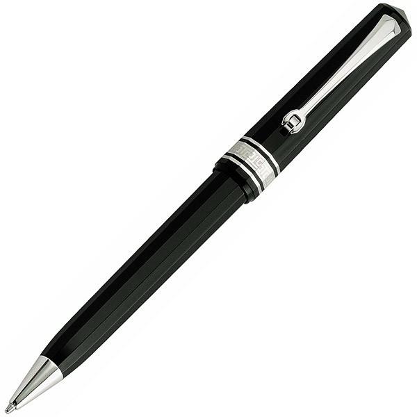 """Подарок молодому человеку. Ручка шариковая """"milord"""" high-tech палладий черная.."""