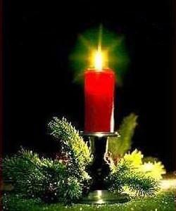 Рождественские гадания. Обстановка таинства гадания.