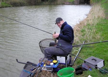 Рыбалка. Вот она рыбацкая удача.