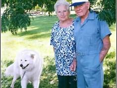 Годовщины свадеб. 60 лет вместе.